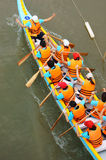 Racer at boat race Stock Photography