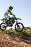 Professional dirt bike rider Royalty Free Stock Photo