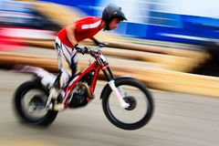 Racer Enduro Stock Photography