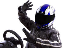 Racer Royalty Free Stock Photography