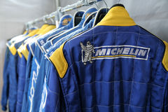 Racer's suit Stock Images