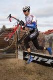 racer shawn för cyclocrossförlagemitchell Arkivbilder