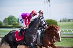 Racerbana - Keeneland Royaltyfri Bild