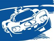 Racerbil Fotografering för Bildbyråer