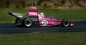 Racerbil för formel 5000 - Begg FM5-5 Arkivbilder