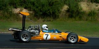 Racerbil för formel 500 - McLaren M10 Arkivfoton