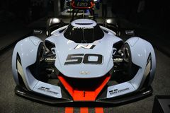 Racerbil 2025 för Hyundai N visionGran Turismo begrepp Royaltyfria Bilder