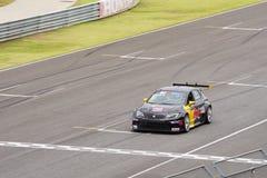 Racerbil för kopp för SEAT Leà ³ n av Kratingdaeng det tävlings- laget i de 2016 TCRNA Royaltyfri Foto