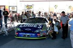 Racerbil för LOWES NASCAR Royaltyfri Fotografi
