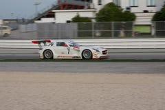 RACERBIL FÖR MERCEDES SLM AGM GT3 Royaltyfria Foton