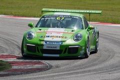 RACERBIL för Porsche 911 kopp GT3 Arkivfoto