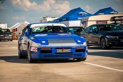 Racerbil för Porsche 944 turboladdarekopp Fotografering för Bildbyråer
