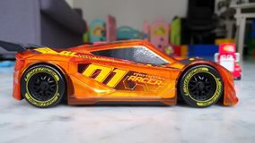 Racerbil plast- Toy Car For Kid stock video