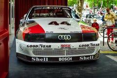 Racerbilen Audi 200 Quattro Trans.-är, 1988 Fotografering för Bildbyråer