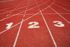 raceredspår Fotografering för Bildbyråer