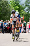 Racers on Course at North Star Grand Prix Stock Images
