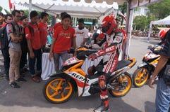 Racers Stock Photo