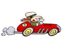 racertappning stock illustrationer