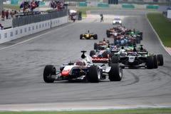 racerullningsstart Royaltyfri Fotografi