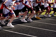 racerunning Royaltyfri Fotografi