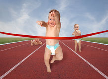 Races babies Stock Images