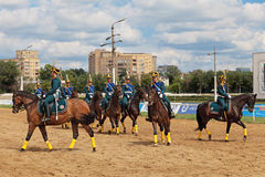 The races for the prize of the President of the Russian Federati Royalty Free Stock Image