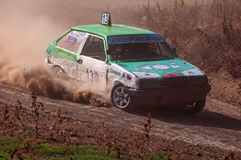 Races on the rough terrain. Races on rough terrain, take place annually at the former testing ground `Don-25`, Rostov-on-Don, Russia, At different times, cars Royalty Free Stock Images