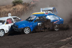 Races on the rough terrain Royalty Free Stock Photo