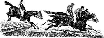 Races royalty free illustration