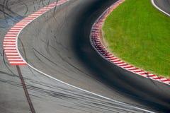 racetrack royalty-vrije stock foto