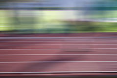 Racetrack motion Stock Image