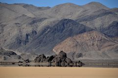 Racetrack playa Stock Images