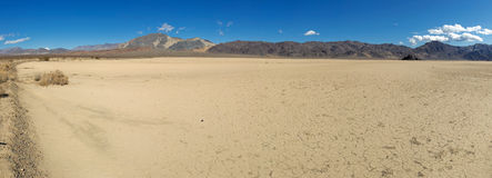 Racetrack Playa, Death Valley Royalty Free Stock Photos