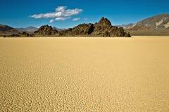Racetrack Playa, Death Valley Stock Photos