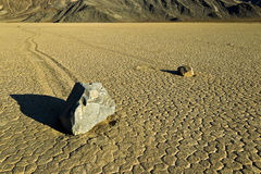 Racetrack Playa, Death Valley Royalty Free Stock Photos