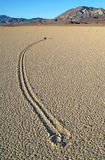 Racetrack Playa, Death Valley (California). Royalty Free Stock Image