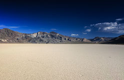The Racetrack Playa in Death Valley National Park in California Royalty Free Stock Photos