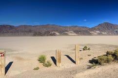 Racetrack Playa in Death Valley National Park, California, USA Stock Photos
