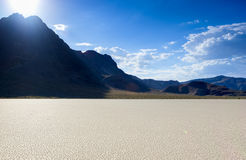 Racetrack Playa in Death Valley National Park, California, USA. Stock Image