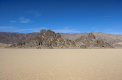 Racetrack Playa in Death Valley National Park, California, USA Stock Image