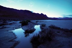 Racetrack Playa Death Valley royalty free stock image