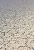 The Racetrack Playa: Dry Mud and Cracked Soil  in Racetrack Play Royalty Free Stock Images