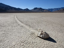 Racetrack Playa Rock Stock Image
