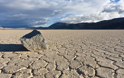 Racetrack Playa stone Royalty Free Stock Photo