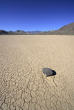 Racetrack Stone in Death Valley Royalty Free Stock Photos