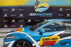 Raceway ΙΣΜΟΎ - Phoenix Nascar και IndyCar στοκ φωτογραφίες