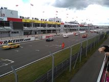Raceway της Μόσχας καλοκαίρι Στοκ φωτογραφίες με δικαίωμα ελεύθερης χρήσης