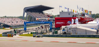 Raceway της Μόσχας Στοκ Εικόνα