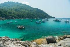 Racha Island-Phuket Photographie stock
