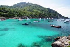 Racha Island (Raya Island), Phuket, Thailand Arkivfoton